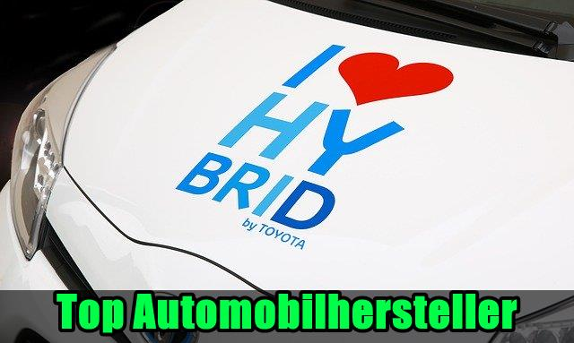 Top Automobilhersteller